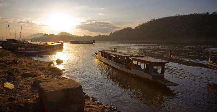 Life on the Mekong-Luang Prabang-Laos
