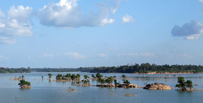 4000 Islands on border of Laos-Cambodia