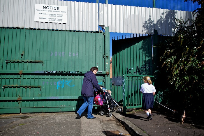 Borders and Barriers-The Belfast Peace Lines - Richard Wainwright
