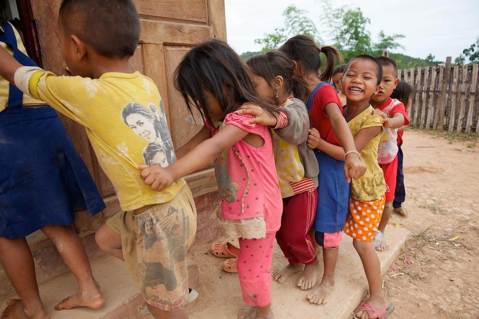 Children participating in Plan's summer school